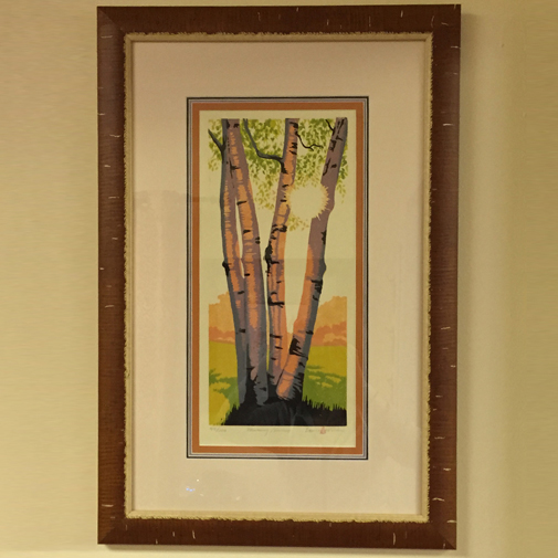 Professional framing services at Creativ Framing and Design in Rochester, NY